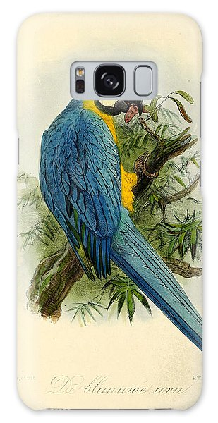 Parakeet Galaxy Case - Blue Parrot by Dreyer Wildlife Print Collections