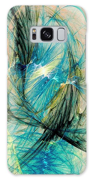 Blue Phoenix Galaxy Case