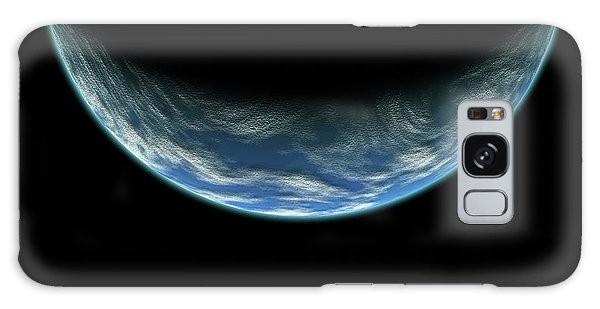 Blue Planet No.5 Galaxy Case