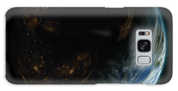 Blue Planet No.9 Galaxy Case