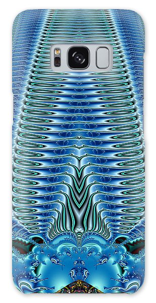 Blue Plume Galaxy Case by Jim Pavelle