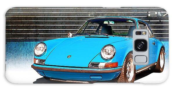 Blue Porsche 911 Galaxy Case