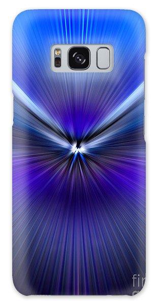 Blue Purple Zoom Galaxy Case