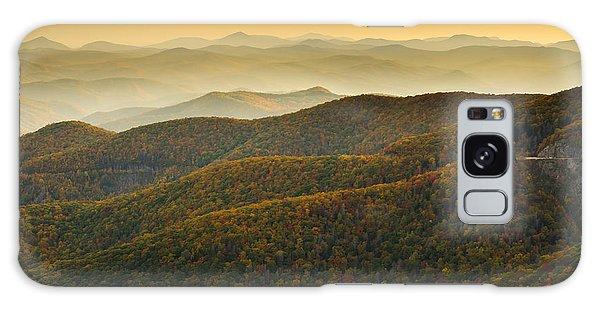 Blue Ridge Autumn Galaxy Case by Serge Skiba