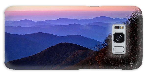Blue Ridge Dawn Galaxy Case by Jaki Miller