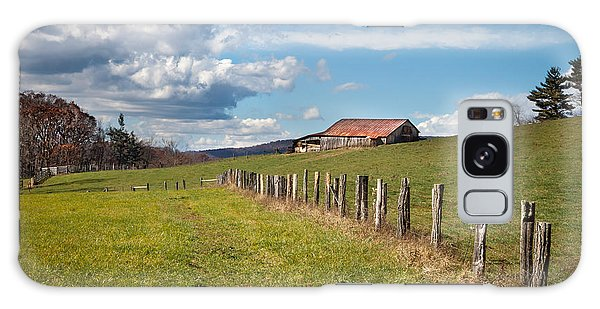Blue Ridge Farm Land Galaxy Case