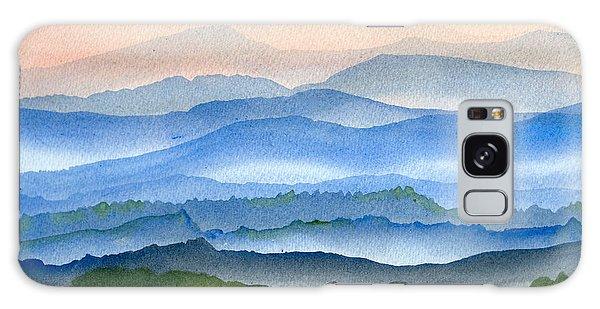 Blue Ridge Mist 1 Galaxy Case