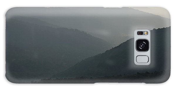 Blue Ridge Morning Galaxy Case
