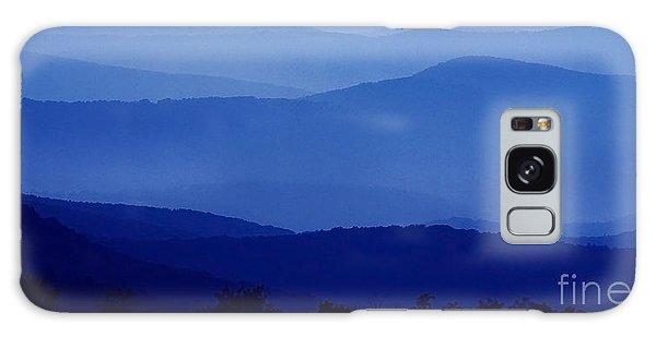 Blue Ridge Mountain Panoramic  Galaxy Case