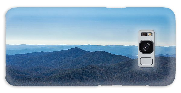 Blue Ridge Mountains Galaxy Case by Debra Crank