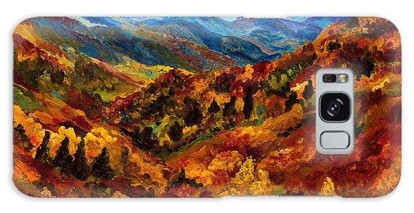 Blue Ridge Mountains In Fall II Galaxy Case