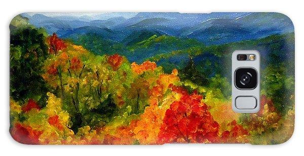 Blue Ridge Mountains In Fall Galaxy Case