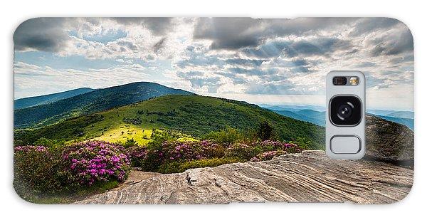 Blue Ridge Mountains Landscape - Roan Mountain Appalachian Trail Nc Tn Galaxy Case