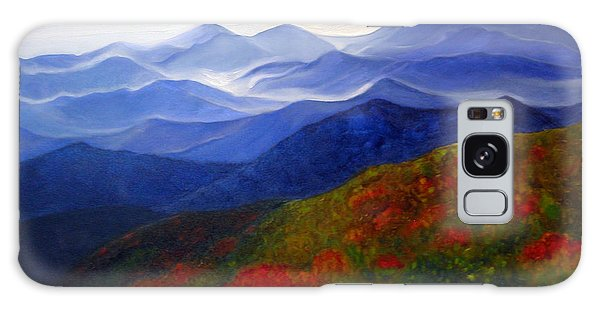 Blue Ridge Mountains Of West Virginia Galaxy Case by Katherine Miller