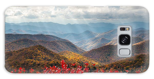 Blue Ridge Parkway Fall Foliage - The Light Galaxy Case