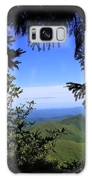 Blue Ridge Parkway Norh Carolina Galaxy Case by Mountains to the Sea Photo