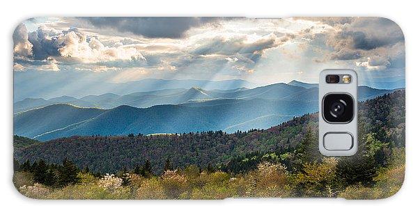 Blue Ridge Parkway North Carolina Mountains Gods Country Galaxy Case