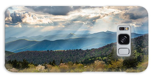 Blue Ridge Parkway North Carolina Mountains Gods Country Galaxy Case