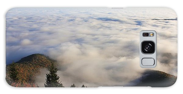 Blue Ridge Parkway Sea Of Clouds Near Graveyard Fields Galaxy Case by Mountains to the Sea Photo