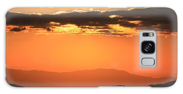 Blue Ridge Parkway Sunset-north Carolina Galaxy Case by Mountains to the Sea Photo