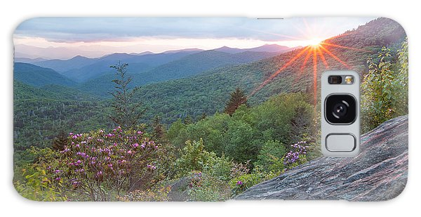 Blue Ridge Sunset Galaxy Case by Doug McPherson