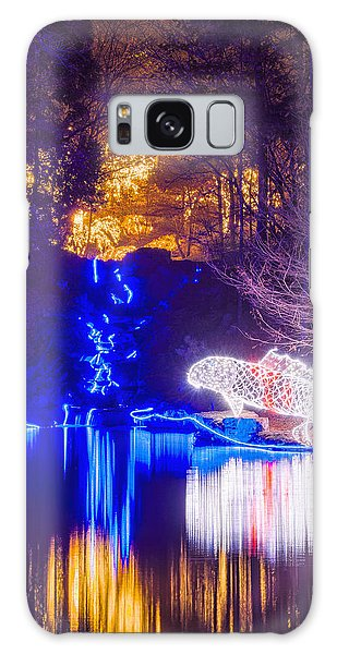 Blue River - Crop Galaxy Case