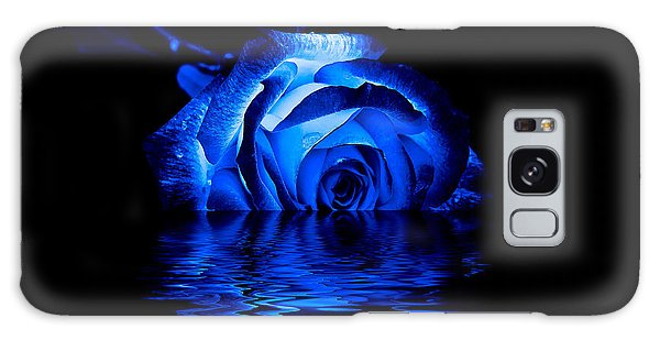 Blue Rose Galaxy Case
