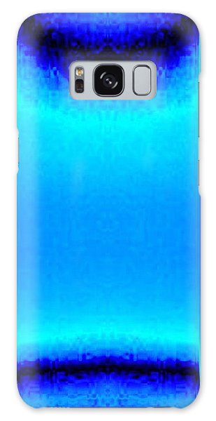 Blue Satin Ribbon Galaxy Case