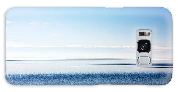 Blue Sea Scene Galaxy Case