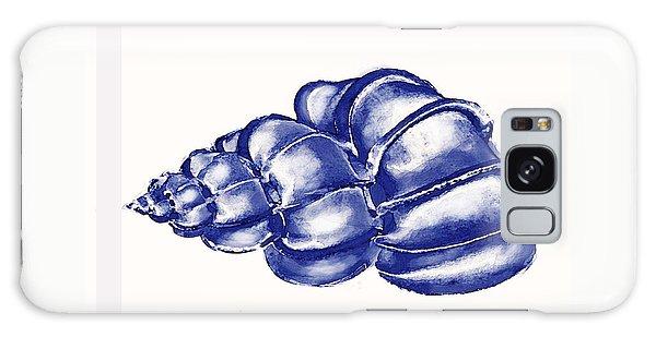 Blue Shell Galaxy Case by Jane Schnetlage