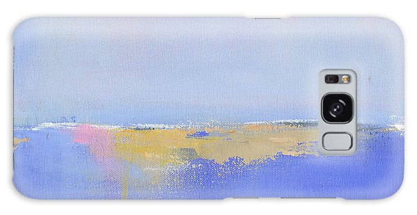 Abstract Landscape Galaxy Case - Blue Silences by Jacquie Gouveia