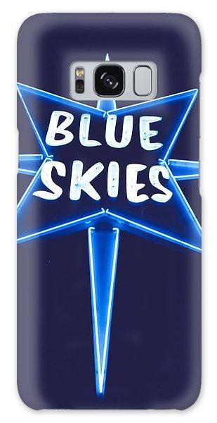 Blue Skies Galaxy Case