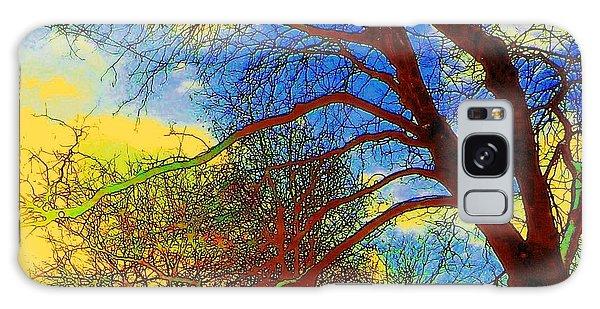 Blue Sky Galaxy Case by Jodie Marie Anne Richardson Traugott          aka jm-ART