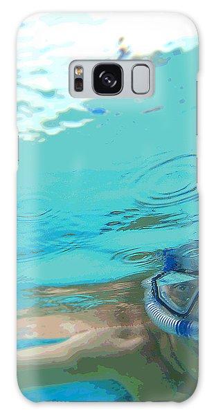 Blue Snorkel Galaxy Case