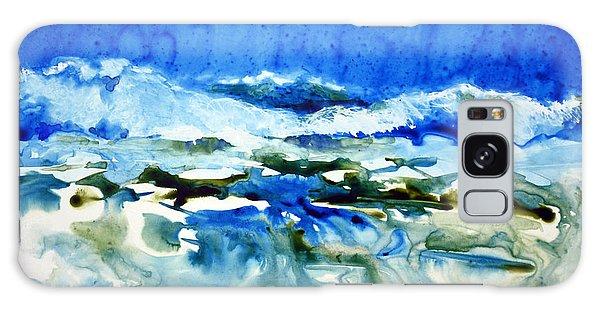Blue Surf Galaxy Case