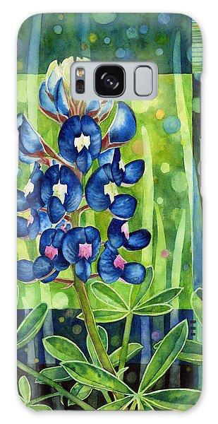 Tapestry Galaxy Case - Blue Tapestry by Hailey E Herrera