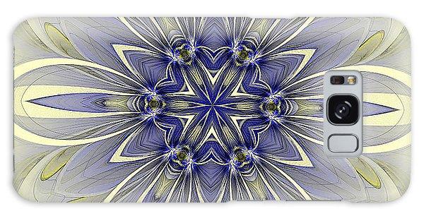 Blue Trance Galaxy Case