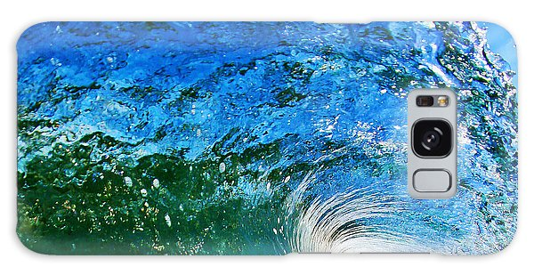 Waves Galaxy Case - Blue Tube by Paul Topp
