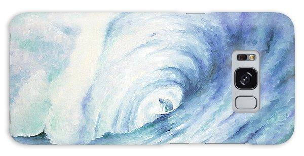 Blue Tube Galaxy Case