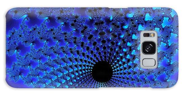 Blue Tunnel Galaxy Case