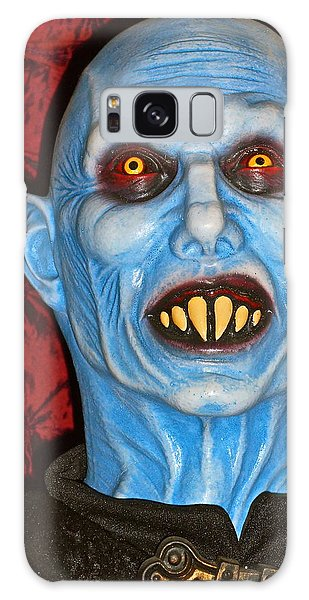 Blue Vampire Galaxy Case by Joan Reese