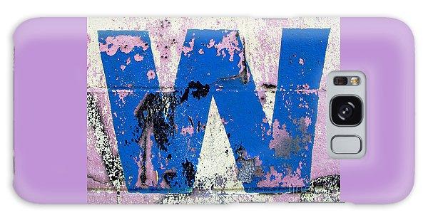 Blue W Galaxy Case