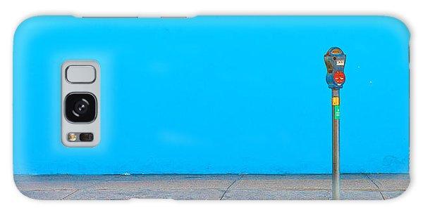 Blue Wall Parking Galaxy Case