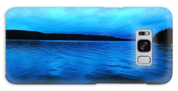 Swan Boats Galaxy Case - Blue Water In The Morn  by Jeff Swan