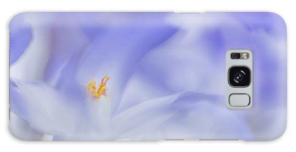 Soft Galaxy Case - Blue Waves by Roelof De Hoog
