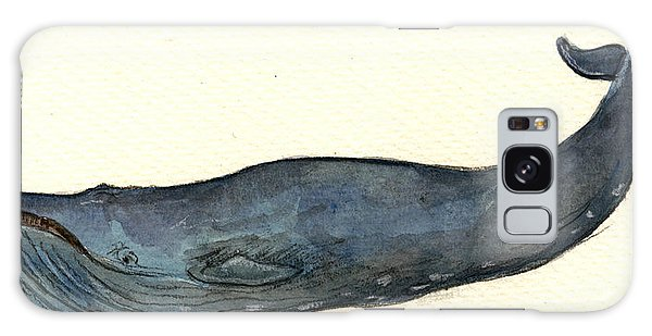 Blue Whale Galaxy Case by Juan  Bosco