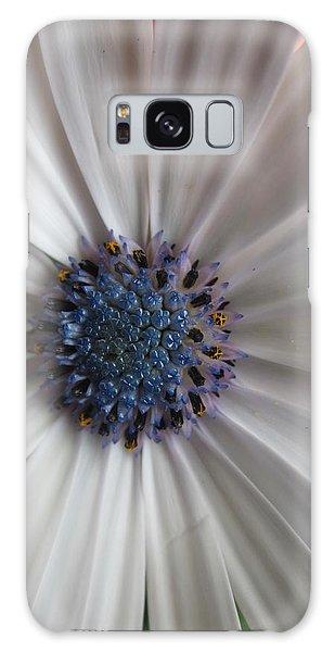 Blue-white Loveliness Galaxy Case