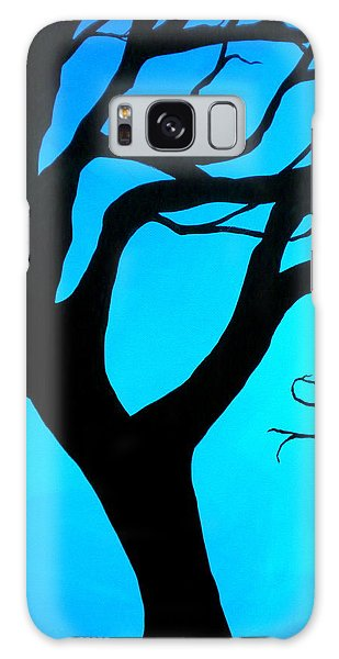 Blue Winter Galaxy Case