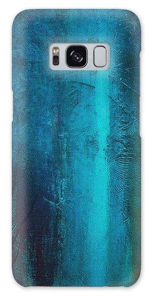 Blue Winter Galaxy Case