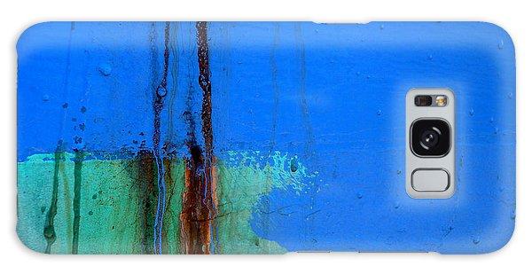 Blue With Streaks 2 Galaxy Case